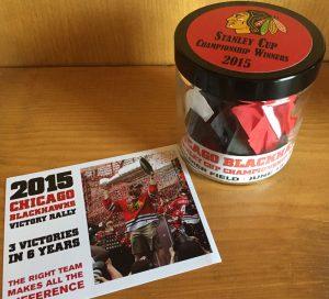 Blackhawk's 2015 confetti
